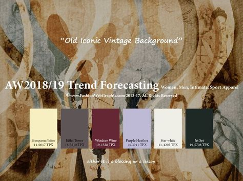nice Autumn Winter 2018/2019 trend forecasting is A TREND/COLOR Guide that offer seasonal inspiration & key color direction for Women/Men's Fashon, Sport & Intimate Apparel Read More by anndorthes #20182019, #A, #Autumn, #Forecasting, #Guide, #Inspi, #Is, #Offer, #Seasonal, #That, #Trend, #Trendcolor, #Winter