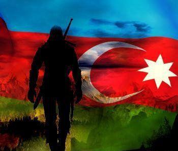 Səhidlər Haqqinda Atalar Sozləri Azerbaijan Flag Flag Art Glitch Wallpaper