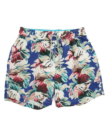 7364ab31dc Volley Vintage Floral Navy Swim Shorts HACKETT