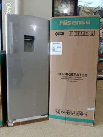 Brand New 229 litre HISENSE fridge with a water dispenser