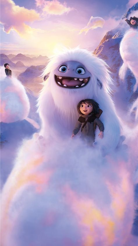 2019 abominable movie 8k iPhone Wallpapers
