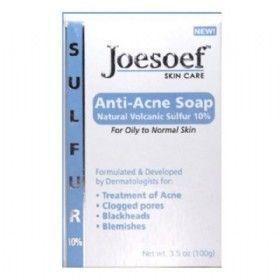 Joesoef Skin Care Anti Acne Soap Reviews Photos Ingredients With Images Anti Acne Soap Acne Soap Sulfur Soap