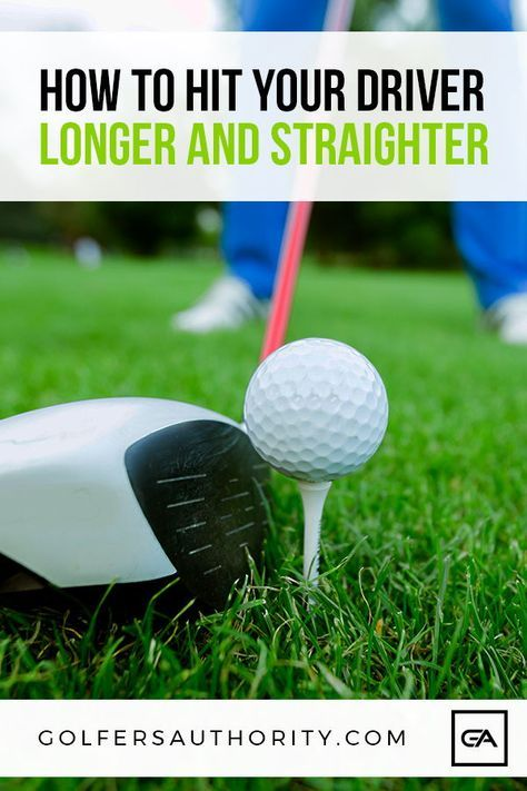 The Secret To Hitting A Golf Driver Straight And Far Golfers Authority Golf Tips Golf Lessons Golf Drivers