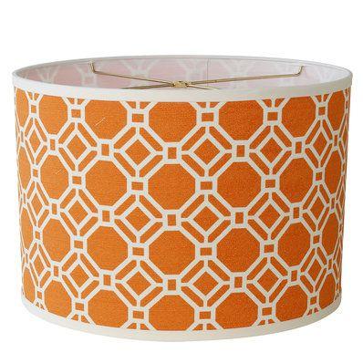 16 Geometric Honeycomb Drum Lamp Shade Replacement Lamp Shades Table Lamp Shades Drum Lampshade
