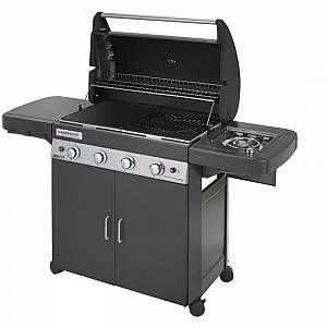 Bruzzzler Barbecue à gaz 4 + 1, chariot de barbecue