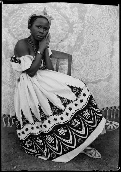 Seydou Keita, self-taught portrait photographer from Bamako known for his 1940-60s portraits of people from Mali.