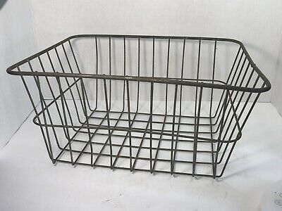 Ad Ebay Url Vintage Decorative Wall Basket Metal Decorative Planter Wire Basket With Patina Basket Wall Decor Baskets On Wall Decorative Planters