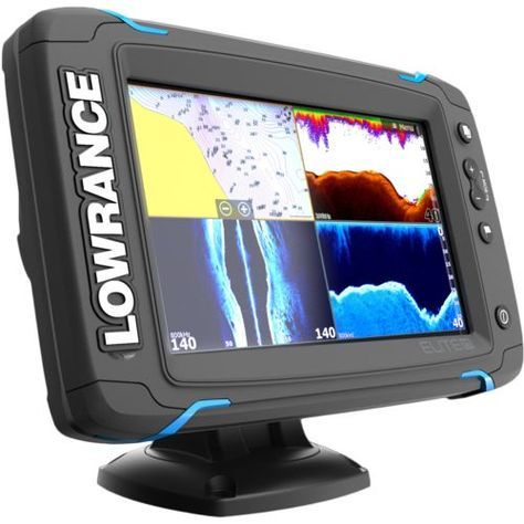 Lowrance Elite 7 Ti Totalscan Fishfinder Gps Combo Marine Electronics Gps Depth Finder