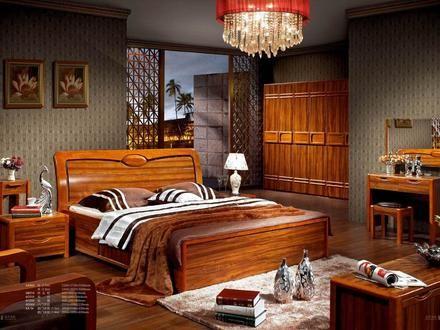 Kreative Schlafzimmer Sets Festes Holz Moderne Holz Schlafzimmer