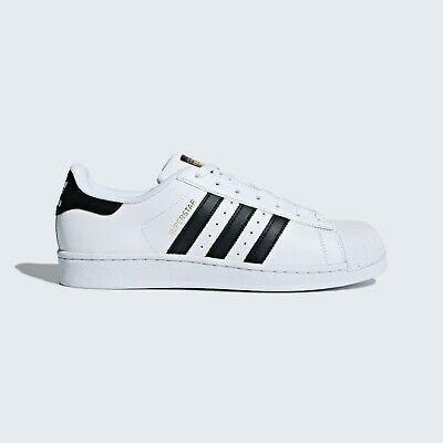 Ad Ebay Men S Adidas Originals Superstar Foundation Sneaker White Black Us 8 5 Adidas Superstar Shoes White Sneakers Fashion Superstars Shoes