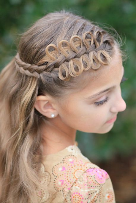 13 Adorable Easter Hairstyles For Kids Easter Hairstyles Kids Hairstyles Cute Hairstyles For Kids