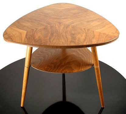 scandinavian mid century coffee table