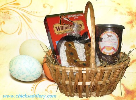 Have you ever given your horse an Easter basket?