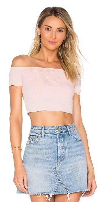 0b4d45d68690a8 x REVOLVE Macy Crop Top by Privacy Please. Show off a little skin in the  Macy Crop Top by Privacy Please. Quality comfort