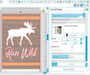 Tips For Using Stencil Film With A Silhouette Stencil Vinyl Stencils How To Make Stencils