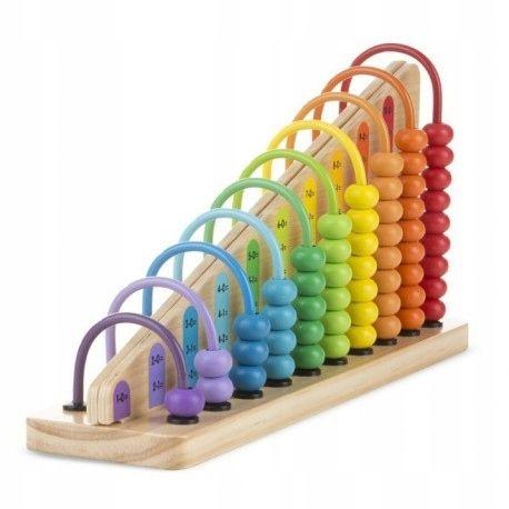 Drewniane Liczydlo Nauka Liczenia Melissa 19272 7851111867 Oficjalne Archiwum Allegro Stem Toys Science Toys Learning Toys