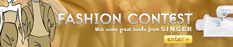 Enter the Instructables Fashion Contest for your chance to win a SINGER sewing machine! #singerco