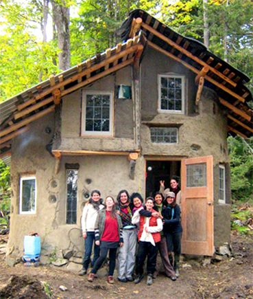 cob house | Some cob homes from the 1500's are still standing, they look quite ...