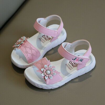 Anti-slip Sole Kids Princess Sandals