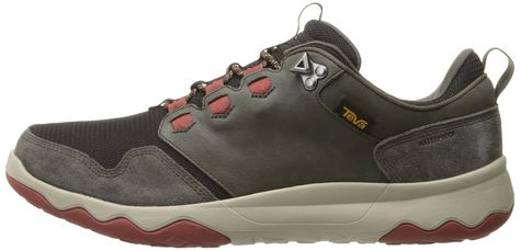 f45e7f2f4aab94 Teva Mens M Arrowood Waterproof Hiking Shoe Black Olive Fired Brick 11.5 M  US     See this great product. (This is an affiliate link)