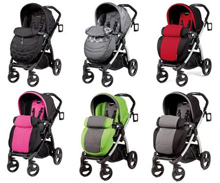 Peg Perego Book Plus Completo all 6 North American colours | Baby ...