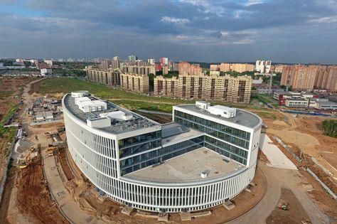 Строительство здания префектуры ТиНАО в Коммунарке