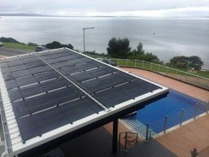 Rigid Panel Solar Heating State Of The Art Solar Pool Heating Solar Pool
