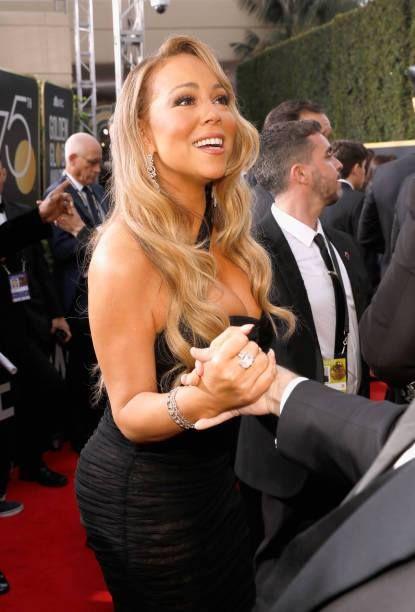 JeremiahR Mens Mariah Carey The Emancipation of Mimi Long Sleeve Tee Black