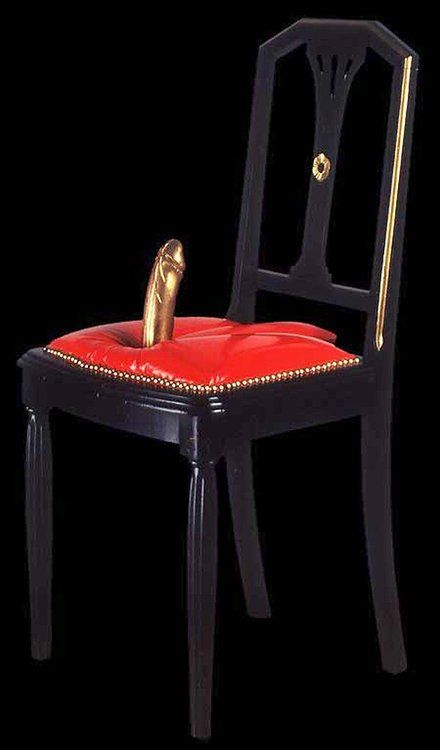 dildo chair | ╔ share | pinterest | dildo