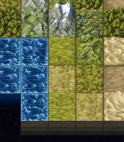 photograph about 2d Printable Terrain named Painted 2D Terrain Tiles: Uncomplicated Established #subsidized#2D Tiles
