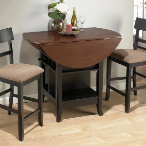 Tall Kitchen Table With Two Chairs Dining Room Small Round