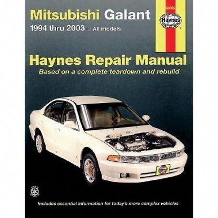 Old Car Restoration Shops Repair Manuals Mitsubishi Galant Automotive Repair