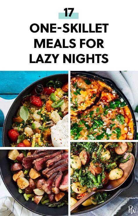 17 One Skillet Meals For Lazy Nights Easy Skillet Dinner Easy