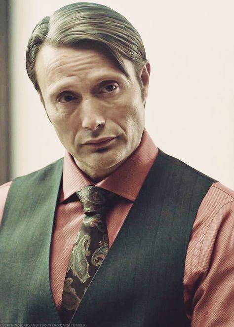 "everynineyearsandthirtyfourdays: ""Hannibal Lecter ↬ 4/50 """