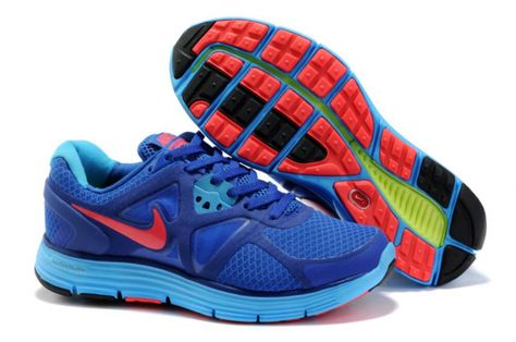 ... 0fcea 94823 Nike Lunarglide 3 Treasure BlueSolar Red-Drenched  Blue-Violet Womens Shoes wholesale ... d3b8c8be8228