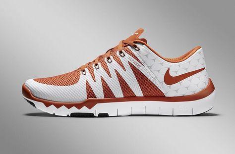 7b0b5c9e0132 Texas Longhorns Nike Free Trainer 5.0 TB