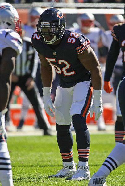 Khalil Mack Photos Photos New England Patriots Vs Chicago Bears Chicago Bears Football Chicago Bears Chicago Bears Pictures
