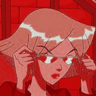 Cartoon Icon Red Aesthetic Psd Nerd Pop Ghibli Cinderela Pocahontas Merida Valente Rapunzela Bela Gra In 2020 Aesthetic Anime Red Aesthetic Red Wall Art