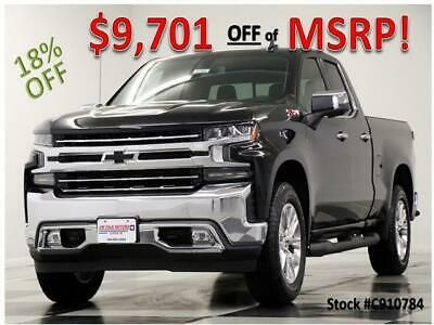 Ebay Advertisement 2019 Chevrolet Silverado 1500 Msrp 53670 4x4