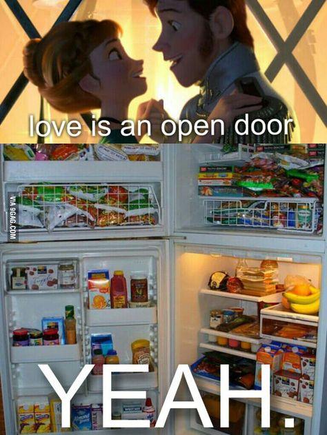Love is an open door - Meme
