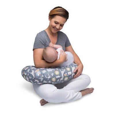 Boppy Sketch Slate Nursing Pillow And Positioner Gray Baby