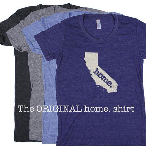 California Home. Tshirt Womens Cut by HomeStateApparel on Etsy, $21.95