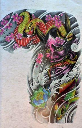Unduh 89+ Gambar Tato Oriental Keren Gratis