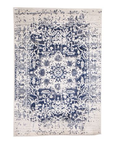 Made In Turkey 5x7 Vintage Inspired Area Rug Rugs T J Maxx