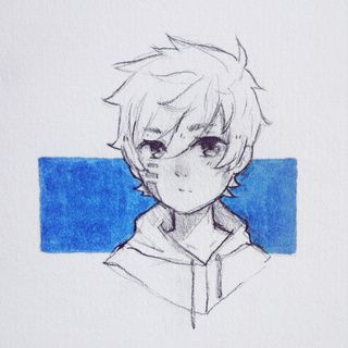 Traditional Drawing Of Neyon Anime Manga Pencil Oc Traditional Drawing Art Ocs Drawings Manga Drawing Sketches