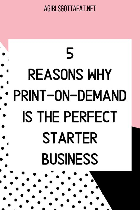 5 Reasons Why Print on Demand is the Perfect Business
