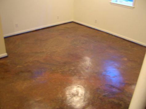 Finishing Bat Faux Finished Floor