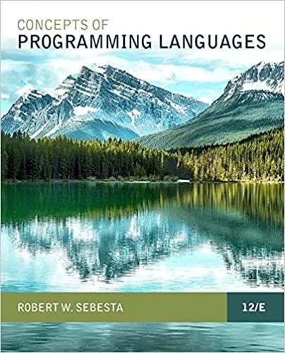 Concepts Of Programming Languages Sebesta 10th Solutions