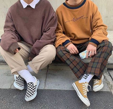 Indie Outfits, Cute Casual Outfits, Retro Outfits, Grunge Outfits, Vintage Outfits, Fashion Outfits, Fashion Ideas, Men Casual, Black Outfits