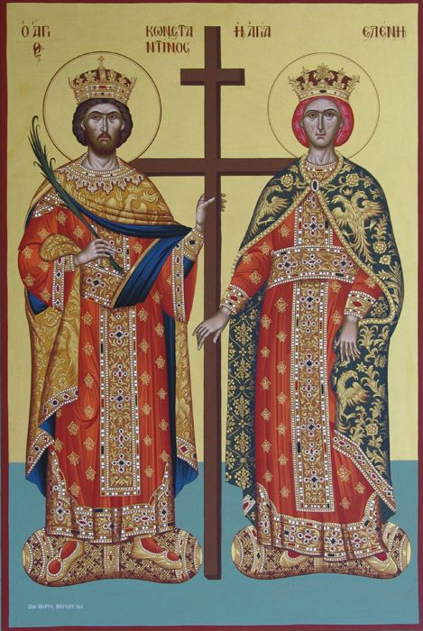 Our workshop has been working on Byzantine icon painting since Our handmade icons are made using the traditional Byzantine technique with a background of 23 carat gold sheets and egg based tempera paints.